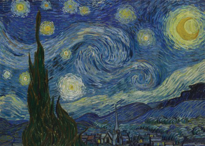 """Starry Night"" Vincent van Gogh"