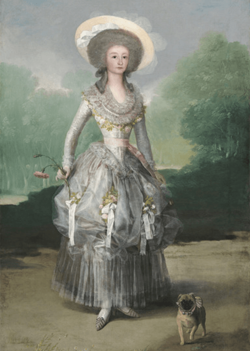 """The Marquesa de Pontejos"" Francisco Goya"