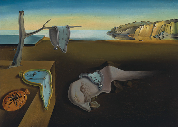 """The Persistence of Memory"" Salvador Dali"