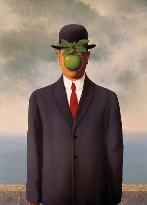 """The Son of Man"" René Magritte"