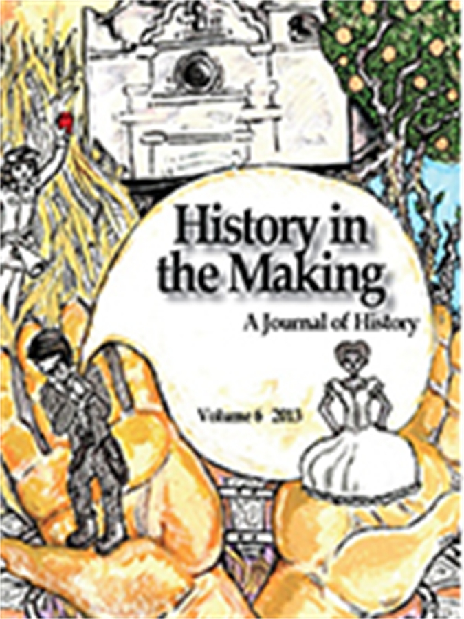 Cover Art: History in the Making 2013