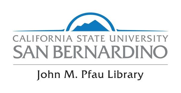 John M. Pfau Library Logo