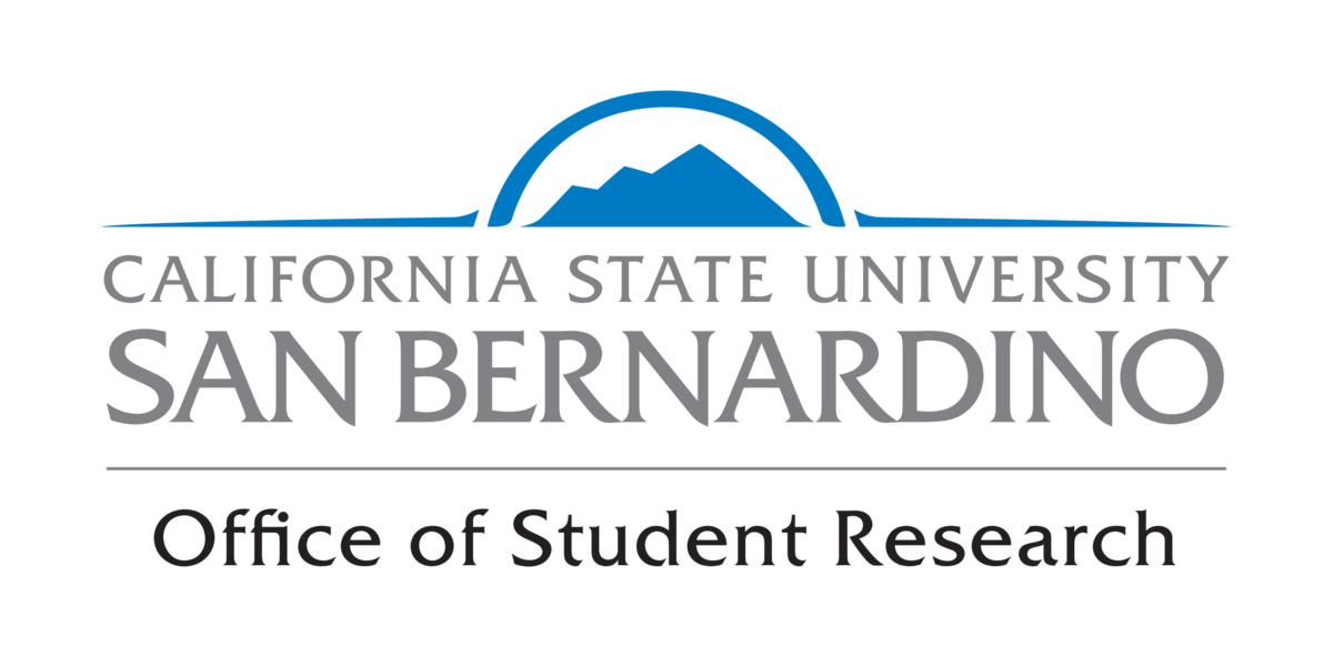 CSUSB Office of Student Research Logo