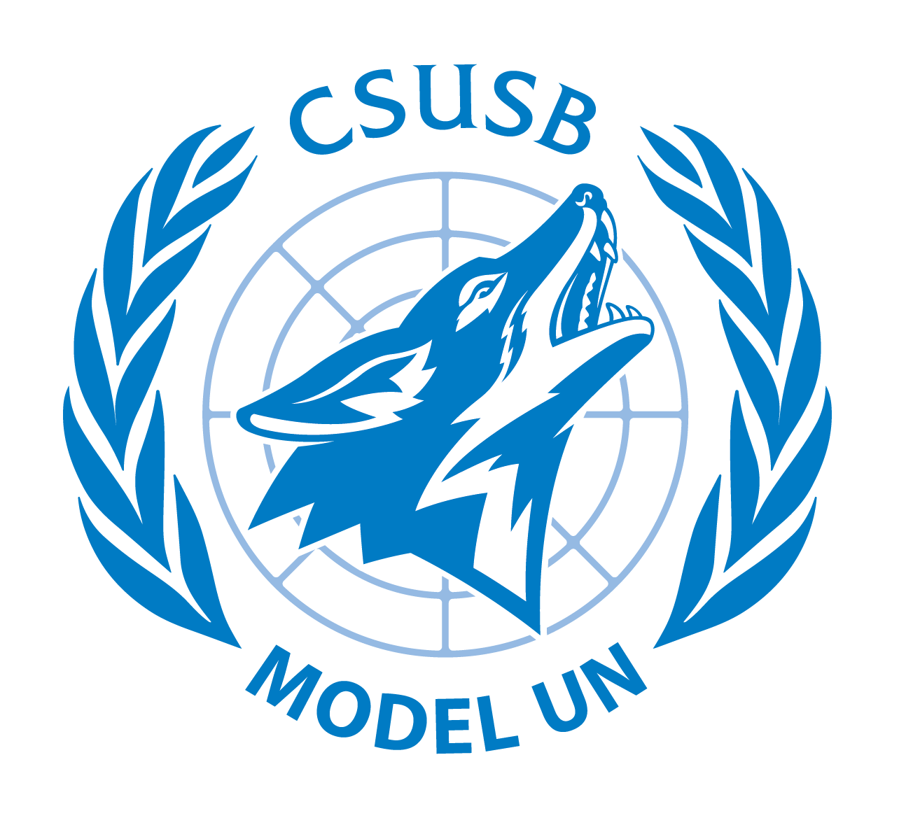 CSUSB Model United Nations logo