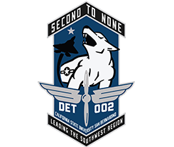 Second to None - DET 002 - CSUSB - Leading the Southwest Region Logo