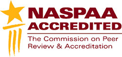 NASPAA ACCCREDITED The Commision on Peer Review and Accreditation