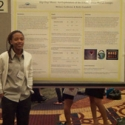 WPA 2012 Student in front of Poster 3