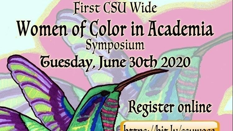 CSUSB Women of Color in Academia event flyer