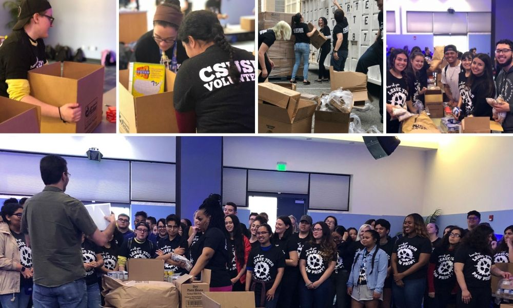 CSUSB University Honor's Program Packing Party!