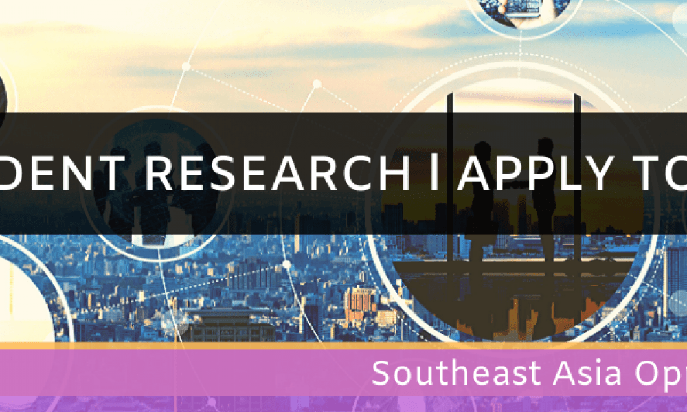 Southeast Asia Opportunities Student Research Apply Today