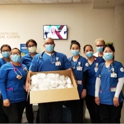 CSUSB students are raising funds and delivering face masks to Inland Empire front-line medical staff.