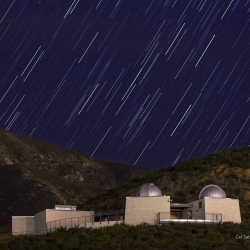 On Badger Hill overlooking the Cal State San Bernardino campus sits the Murillo Family Observatory.