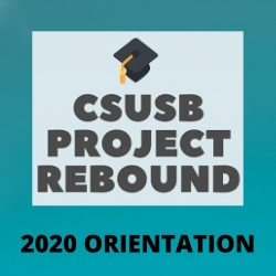 Project Rebound orientation flyer