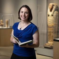 Kate Liszka, CSUSB associate professor of history and the Benson and Pamela Harer Fellow in Egyptology, will present the talk.