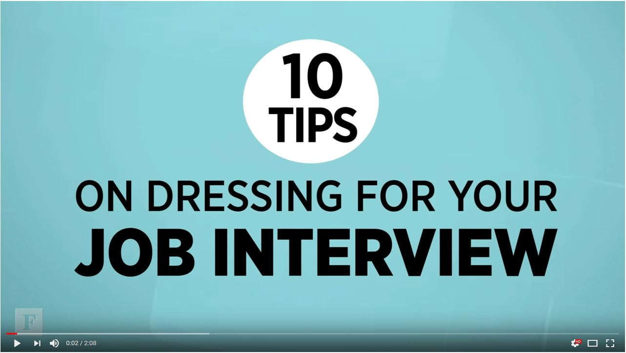 10 tips on dressing for your job interview