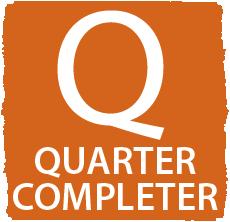 Q = Quarter Completer Logo