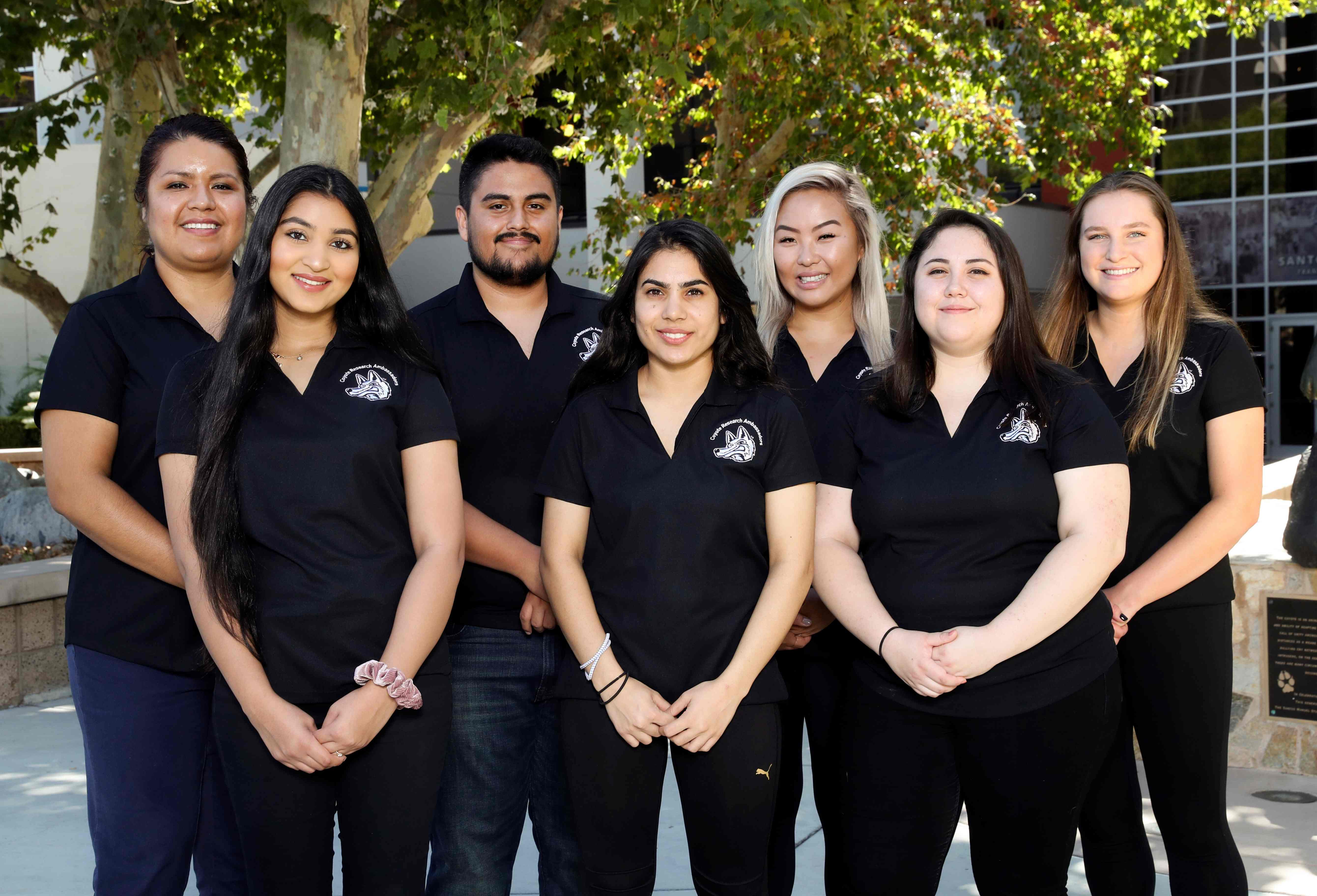 2019-2020 Coyote Research Ambassadors