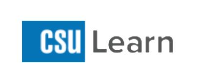 CSU Learn Logo