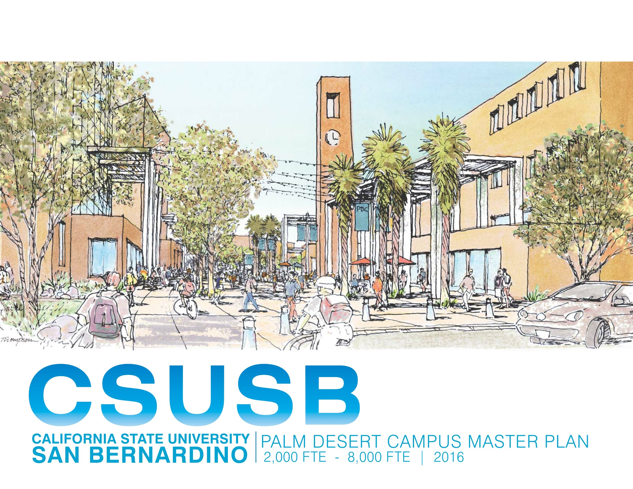 CSUSB PDC 2016 Master Plan Report