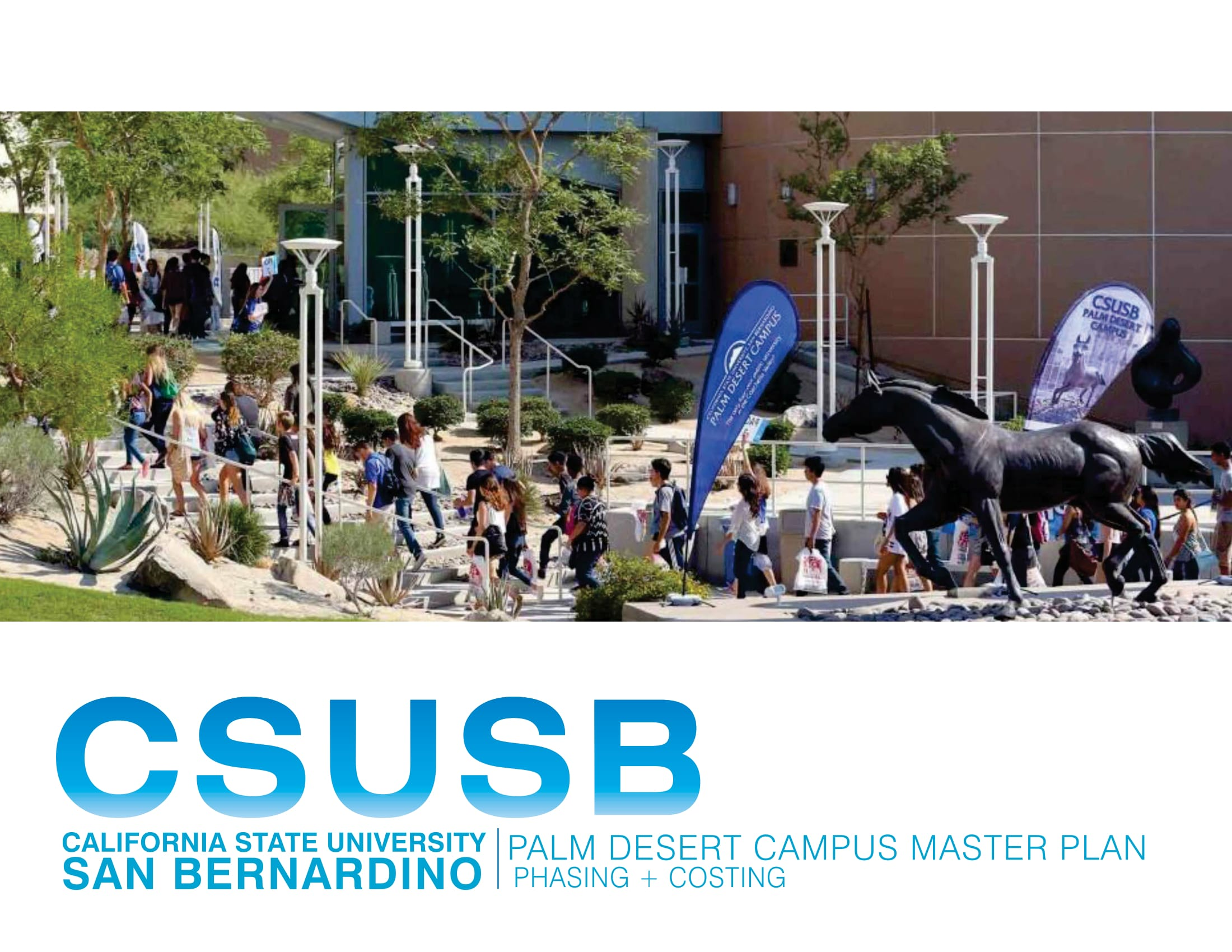 CSUSB PDC Master Plan Phasing and Cost Memo
