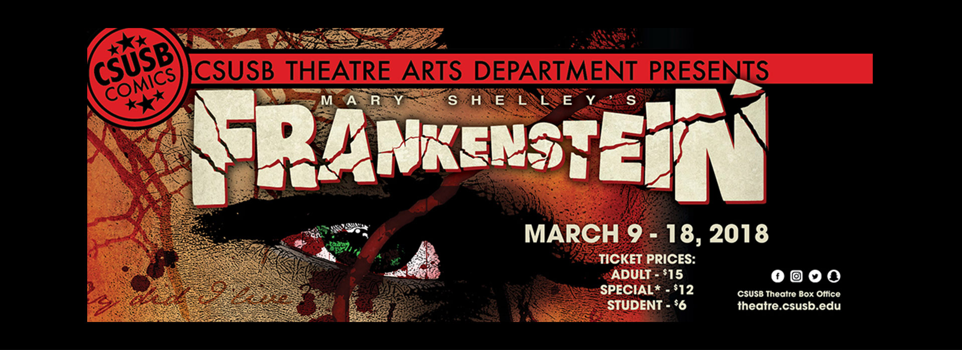 CSUSB production of 'Frankenstein' incites chaos on the Barnes Stage