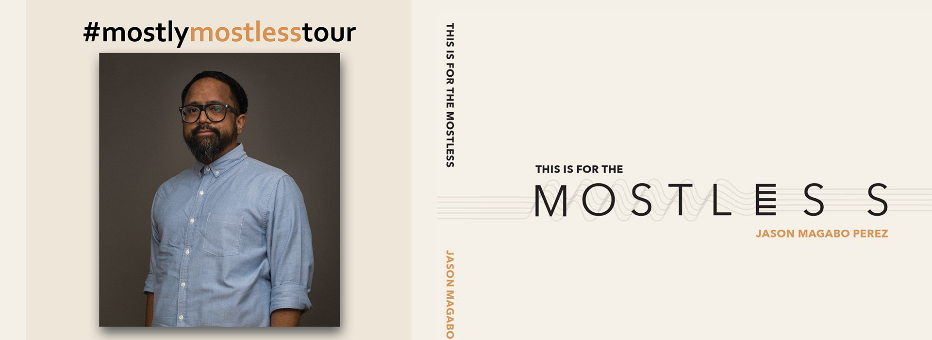 Lubos PASO hosts Nov. 1 book launch for Jason Magabo Perez's 'This is for the mostless'