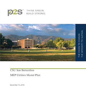 CSUSB MEP Utilities Master Plan PDF