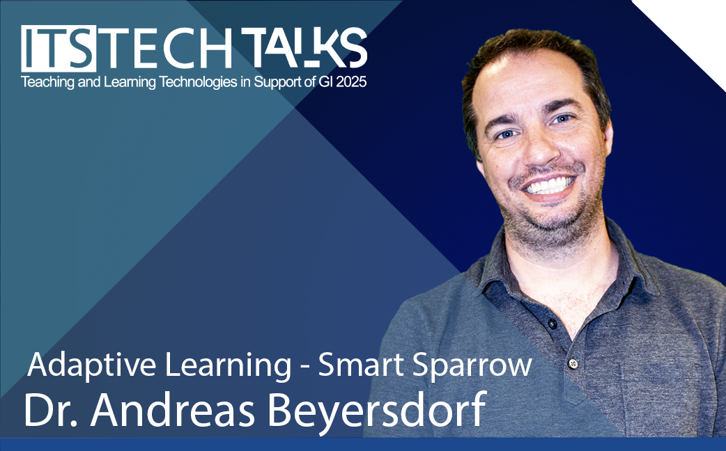 Adaptive Learning - Smart Sparrow - Dr. Andreas Beyersdorf