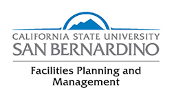 CALIFORNIA STATE UNIVERSITY SAN BERNARDINO - Facilities Planning and Management