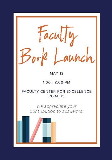 Faculty Book Launch, May 2019