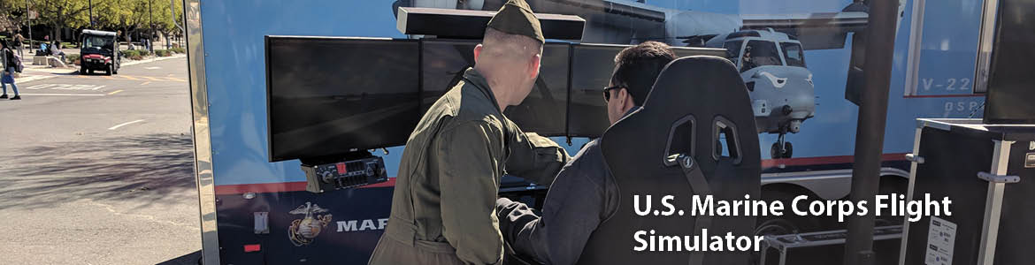U.S. Marine Corps Flight Simulator