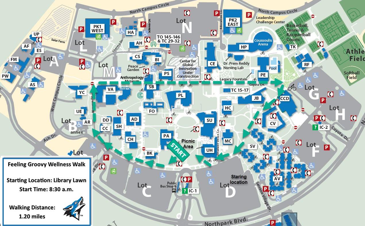cal state san bernardino campus map President S Annual Picnic Csusb cal state san bernardino campus map