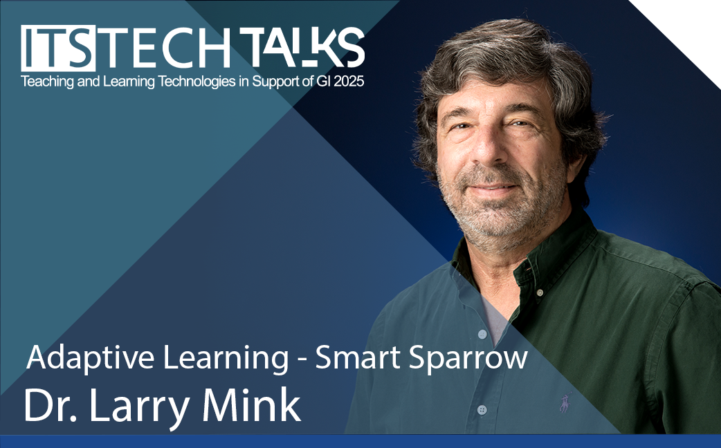 Adaptive Learning - Smart Sparrow - Dr. Larry Mink