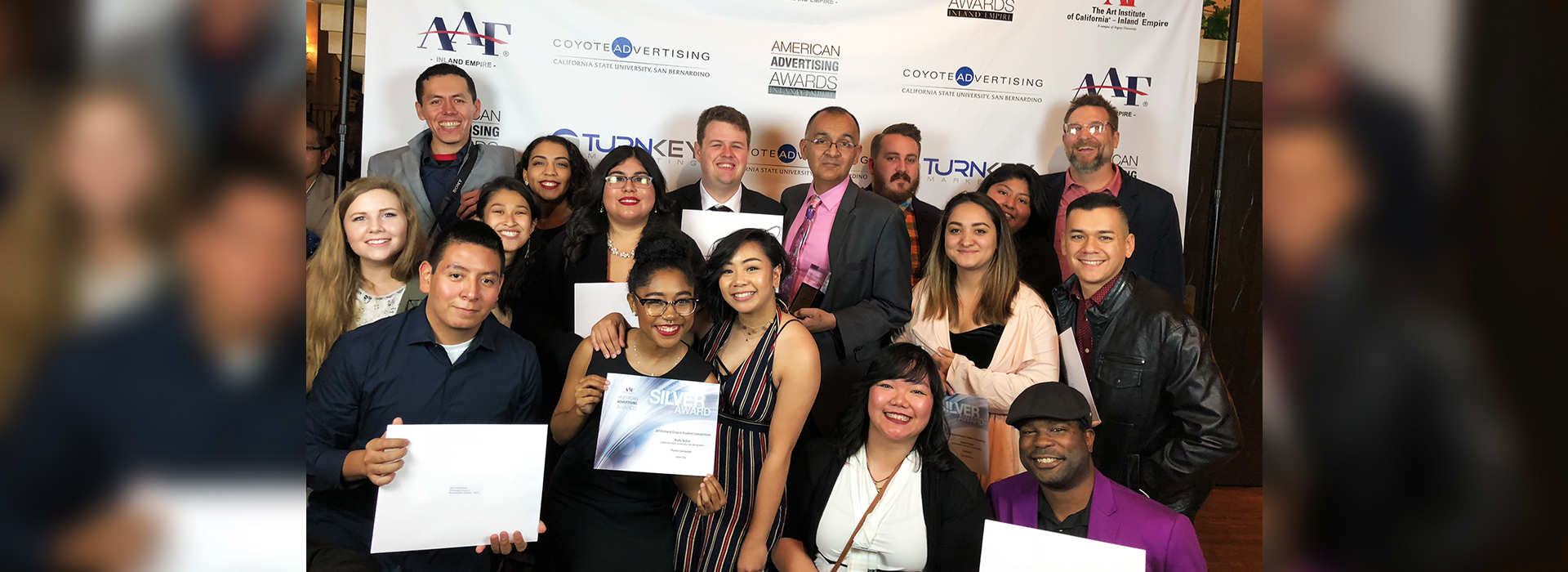 Department of Art at Cal State San Bernardino took home 31 ADDY Awards