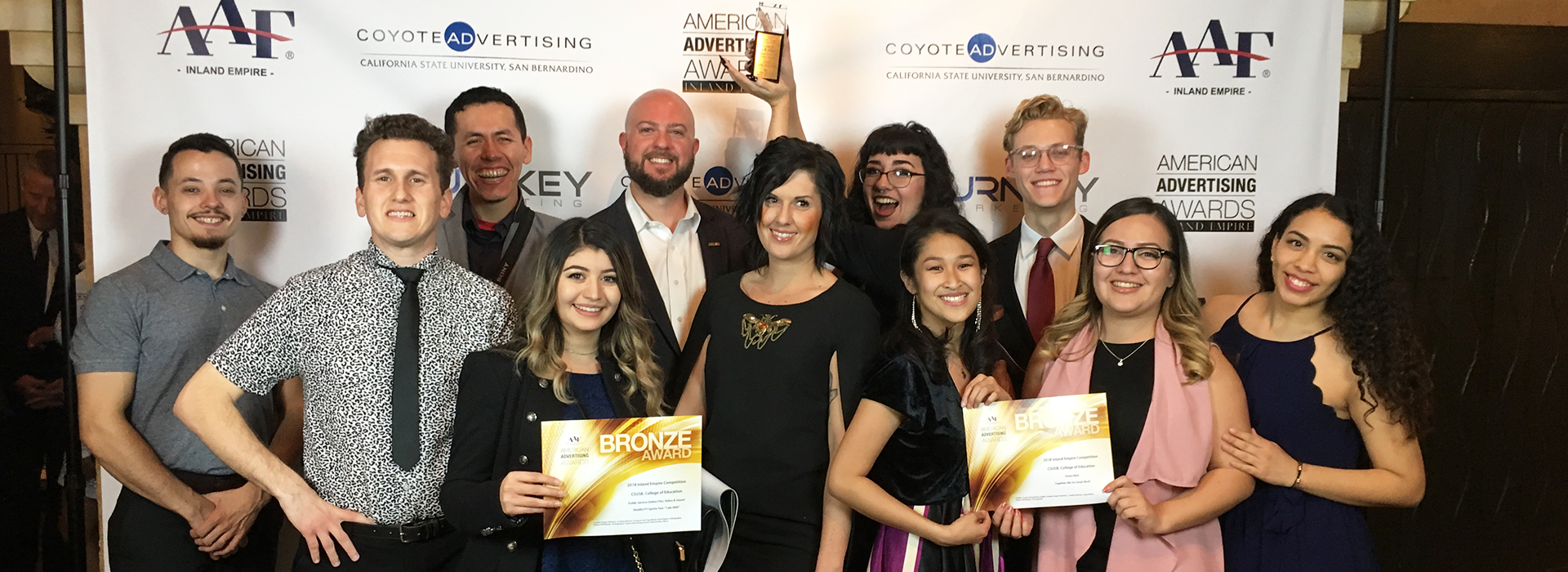 Coyote Advertising wins major awards from American Advertising Federation Inland Empire Chapter