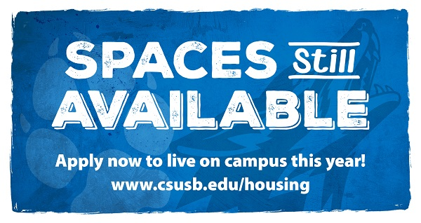 Spaces Still Available - Apply now to live on campus this year!