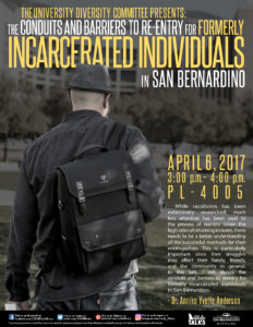 Incarcerated Individuals in San Bernardino