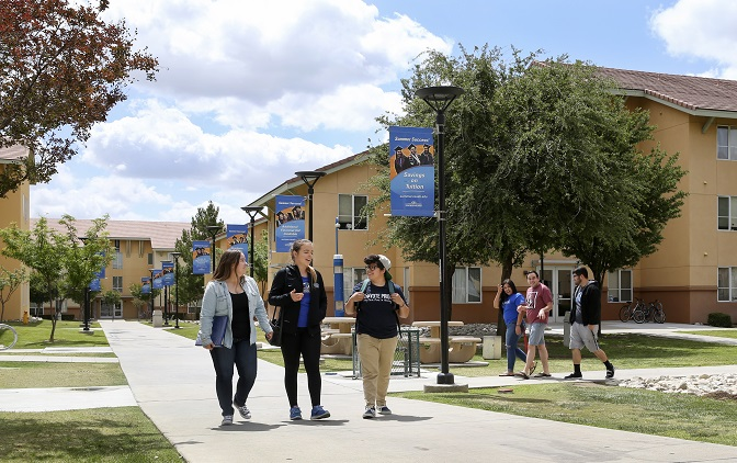 Students Touring Villages CSUSB