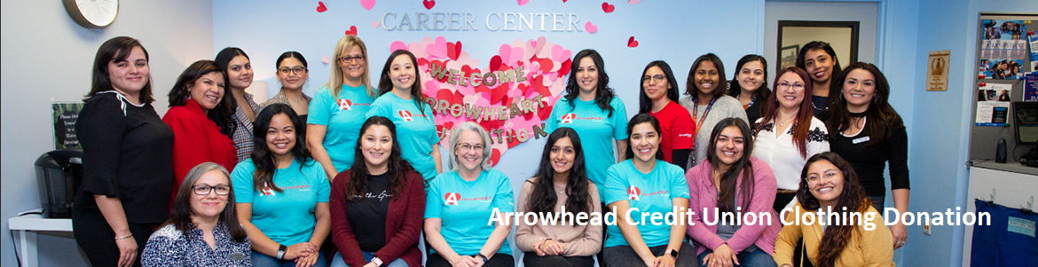 Arrowhead CU Clothing Donation Delivery