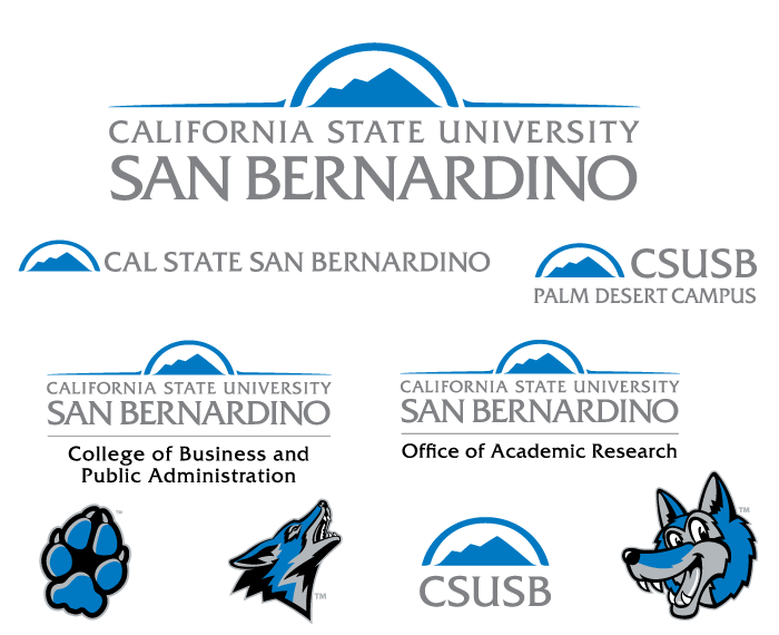Download CSUSB logos