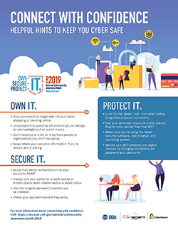 National Cyber Security Awareness Month Poster