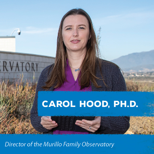 Director of the Murillo Family Observatory