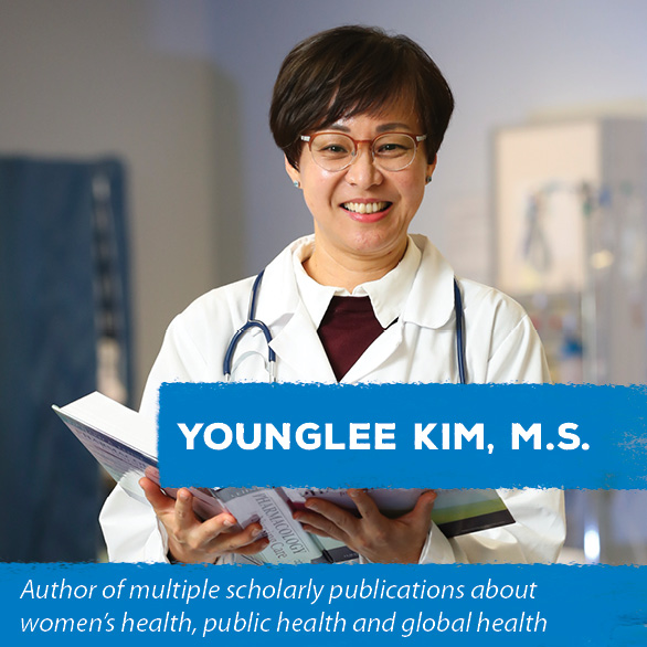 Younglee Kim, M.S. - Author of multiple scholarly publications about women's health, public health and global health
