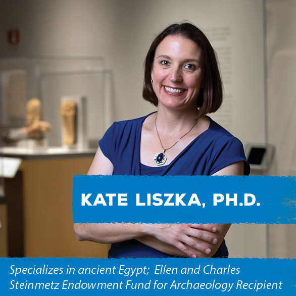 Recipient of the Pamela and Benson Harer Fellow specializing in Egyptology