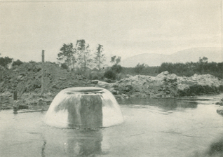 The Gage Canal Well, Santa Ana River, 1880's