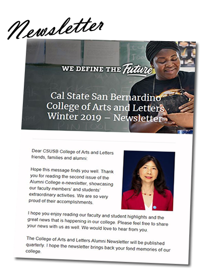 CAL Winter 2019 Newsletter